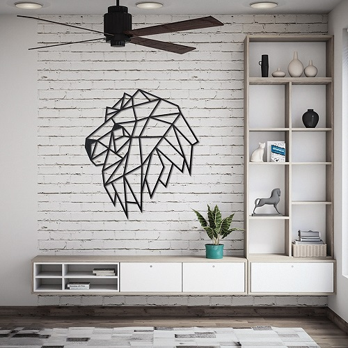 EWA|實木壁飾 -  獅子心 理查