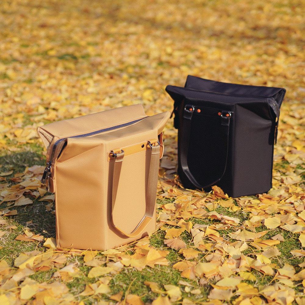 FOOKOO   小凳包 - 卡其色