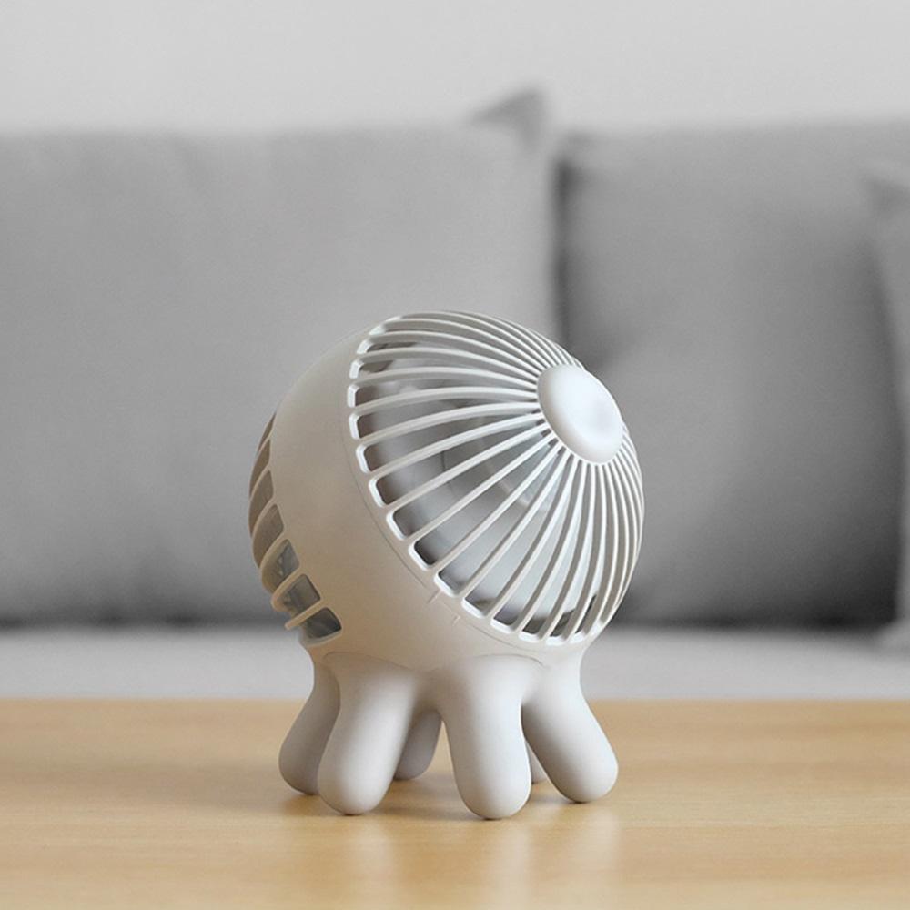 Ethne|章魚風扇 - 插線版 - 淺灰色