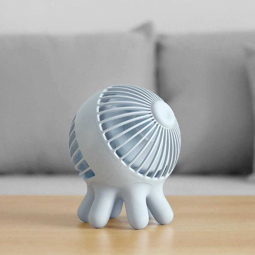 Ethne|章魚風扇 - 插線版 - 藍灰色