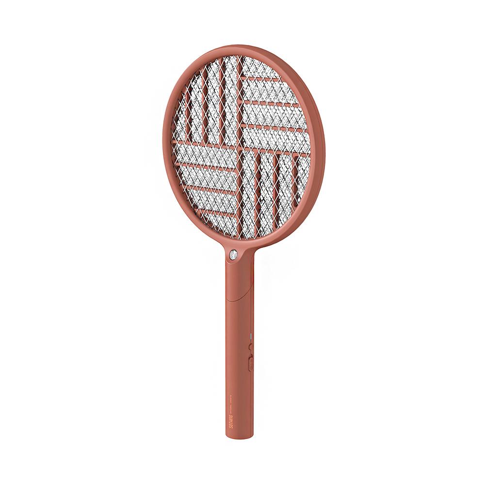 Ethne|折折電蚊拍 - 曙紅色