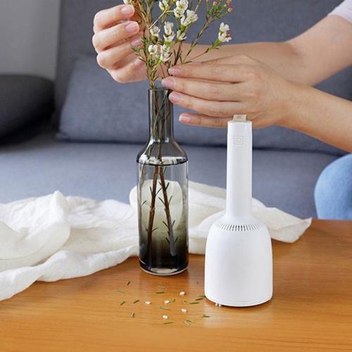 原創上品|小風鈴 無線吸塵器 - 桌上型 - 附吸嘴版 - 冰雪白