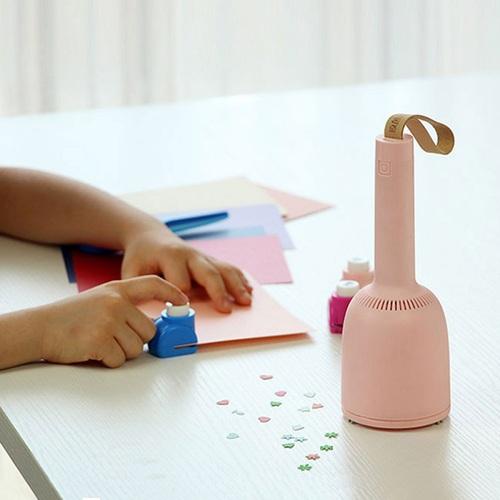 原創上品|小風鈴 無線吸塵器 - 桌上型 - 附吸嘴版 - 櫻花粉