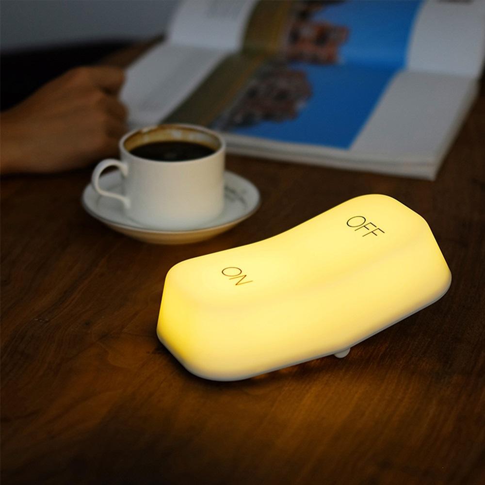 Ethne 開關桌面造型燈 - 黃光
