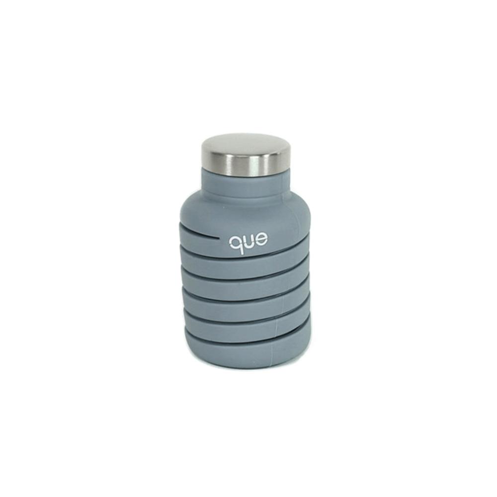 que Bottle 伸縮水瓶(600ml) - 水泥灰