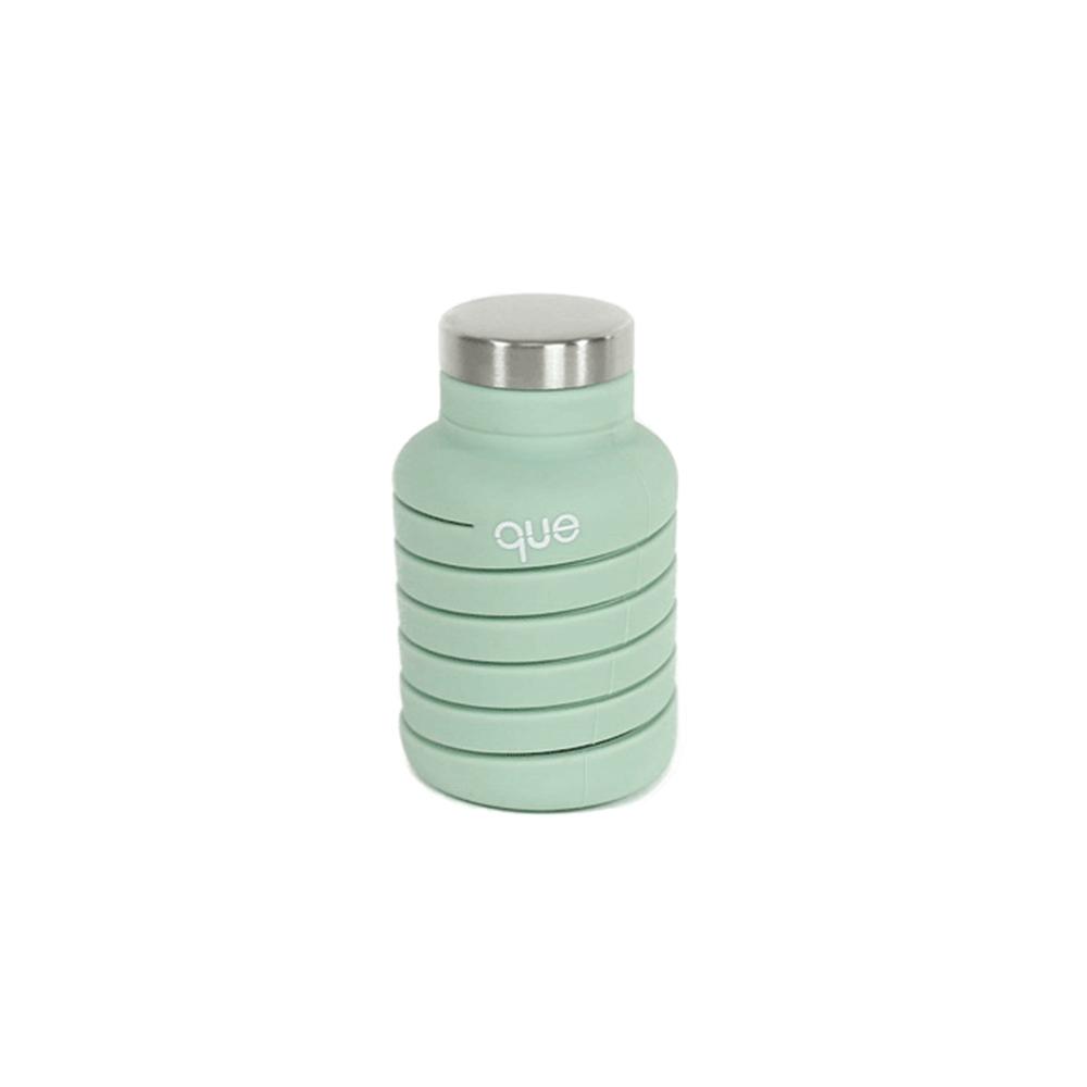 que Bottle|伸縮水瓶(600ml) - 草木綠