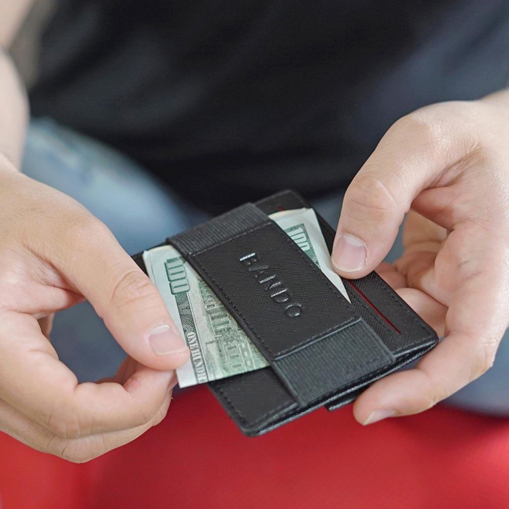 Ethne|BANDO 2.0 快手卡夾 - 酒紅色
