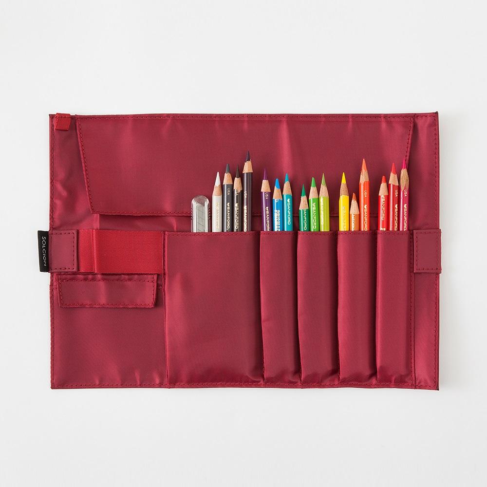 Solcion|KURNUT 捲捲收納袋 - 酒紅色