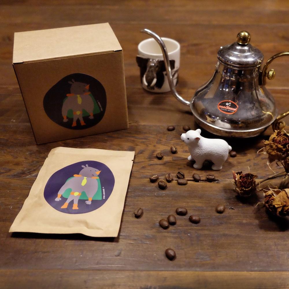 點點善Agoood|咖啡禮盒-印地安雪峰耳掛包(10包)