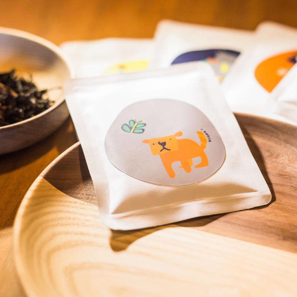 點點善 Agoood|茶葉禮盒-凍頂烏龍隨身包(10包)