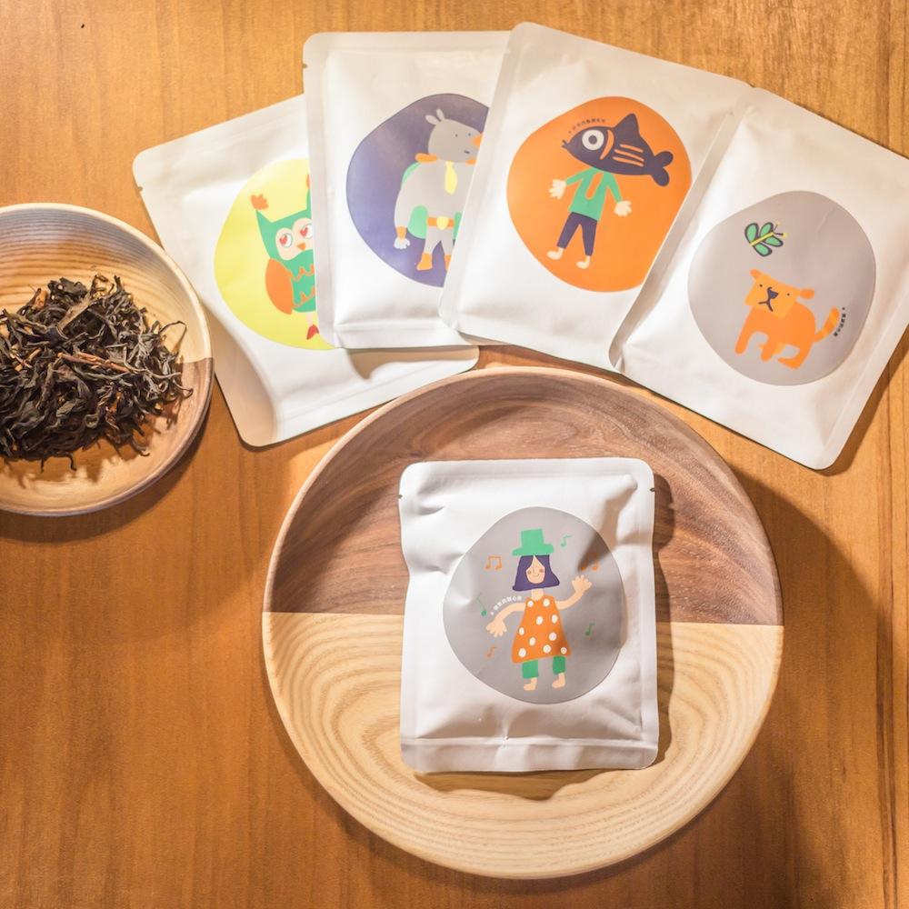 點點善 Agoood|茶葉禮盒 -綜合茶葉隨身包(10包)