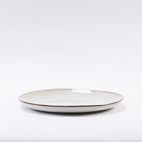 Bloomingville 灰色陶瓷餐28.5cm