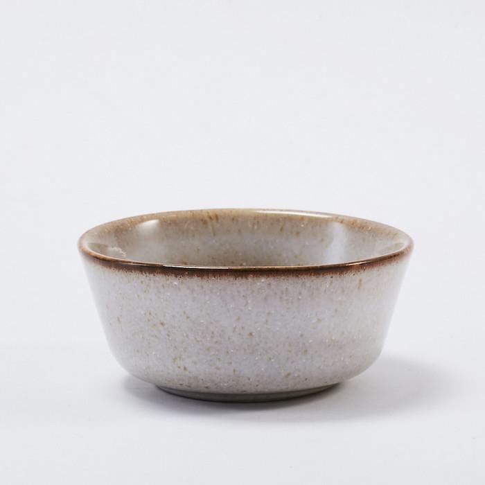 Bloomingville 灰色陶瓷醬料碗