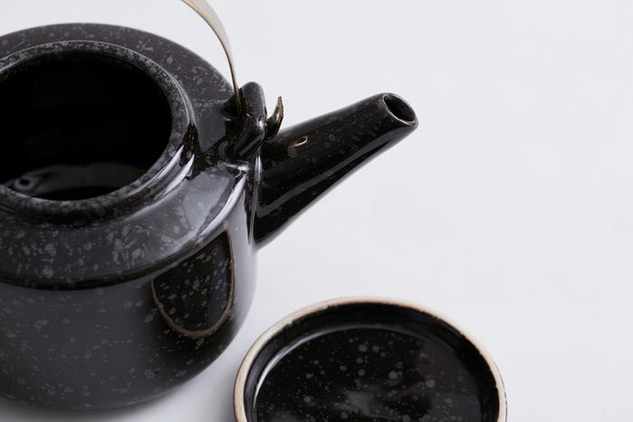 (複製)Bloomingville|黑色咖啡杯附底盤