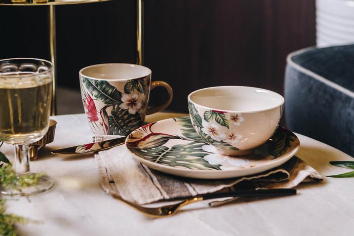 (複製)Bloomingville|棕梠派對瓷碗盤二件組