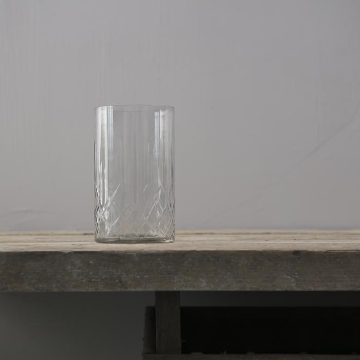 (複製)Bloomingville|宮廷微光透明窄口花器