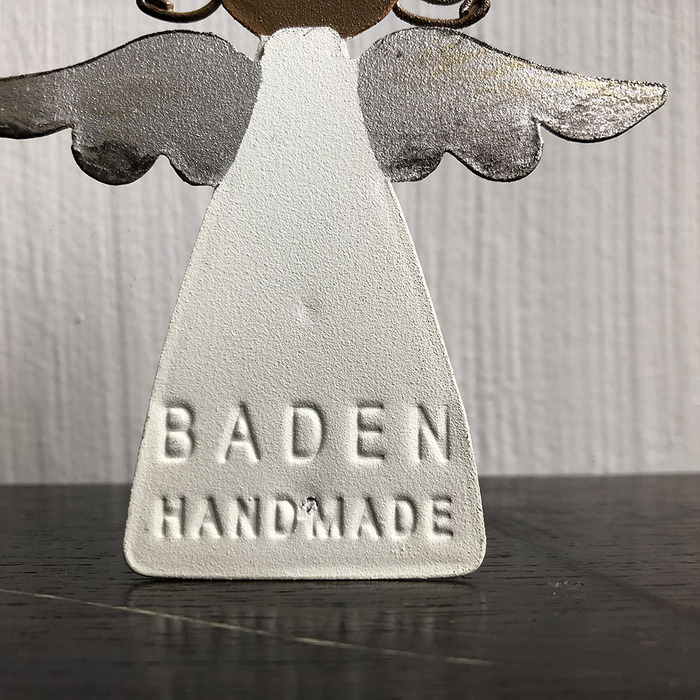(複製)Baden 銀色松果雪白星星裝飾&擺件天使