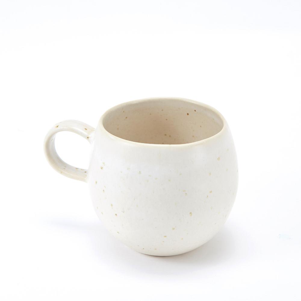 Bloomingville|白色陶瓷杯