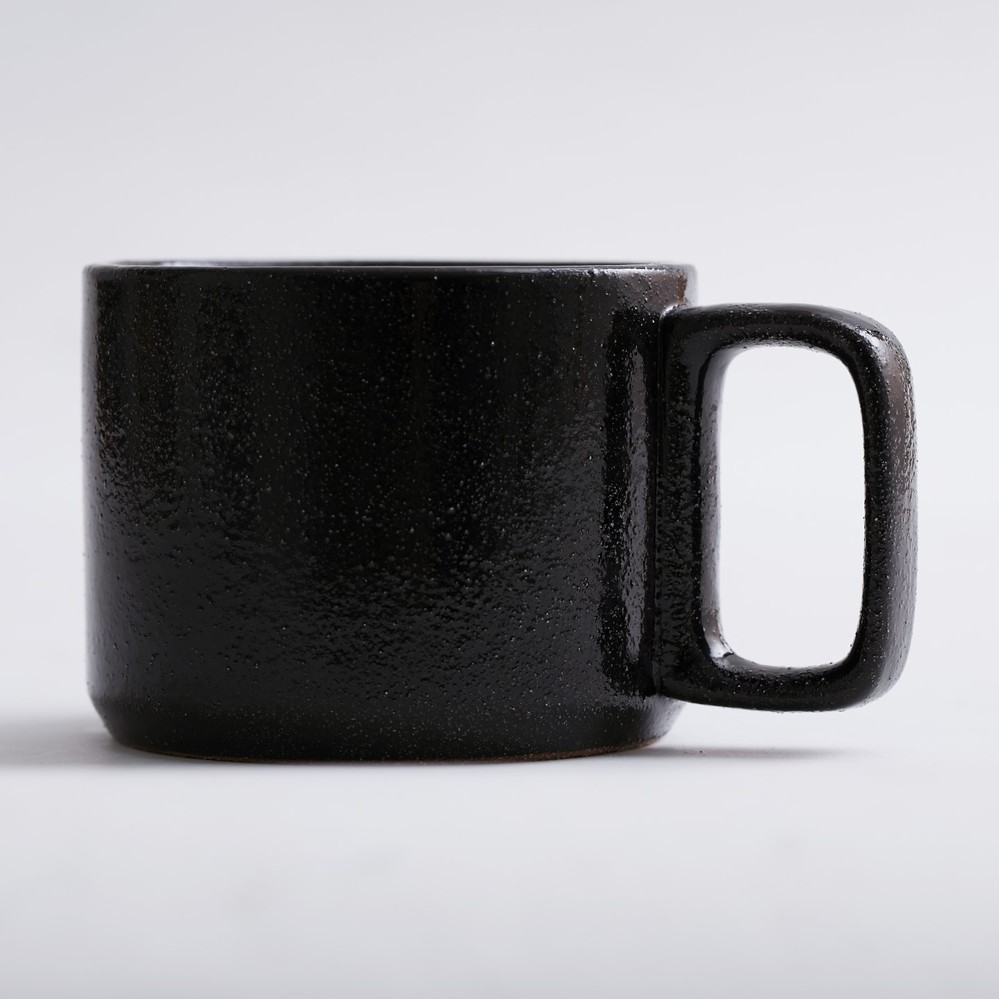 Bloomingville|黑色陶瓷咖啡杯