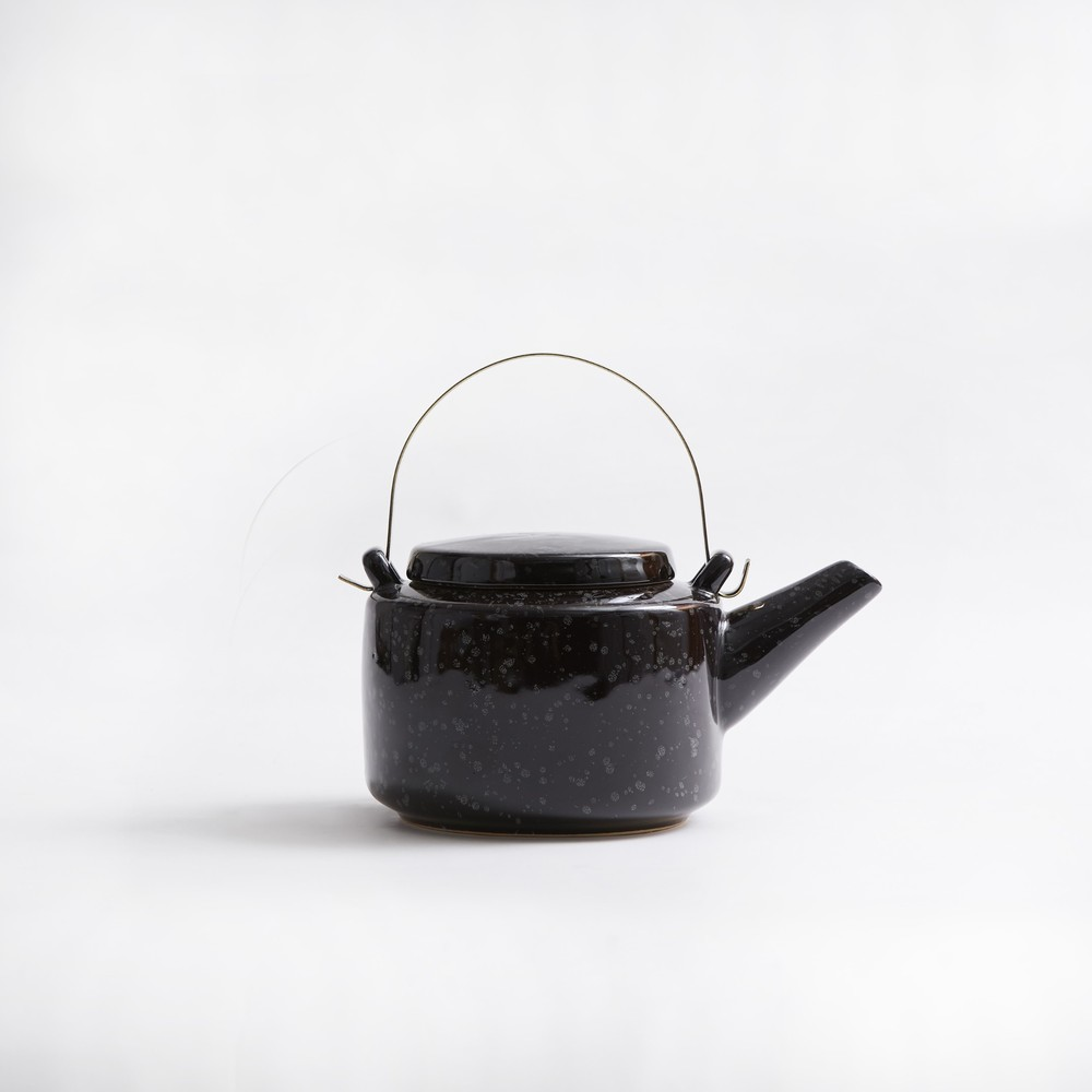 Bloomingville|黑陶瓷茶壺