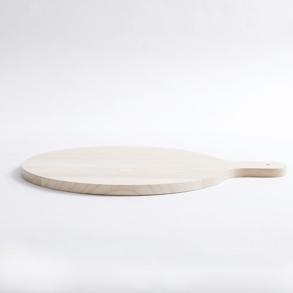 Bloomingville|橡木圓形分享盤/砧板
