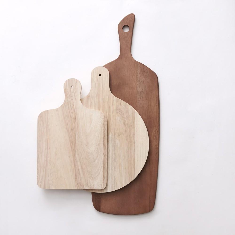 Bloomingville|橡木方形分享盤/砧板
