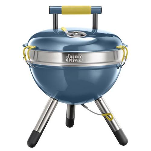 Jamie Oliver 戶外彩色BBQ-灰藍色+餐具組(一套4款,每款4支.共16支)