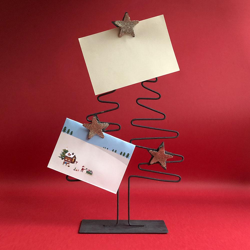 Baden|金色星星聖誕樹手做Memo夾-35cm