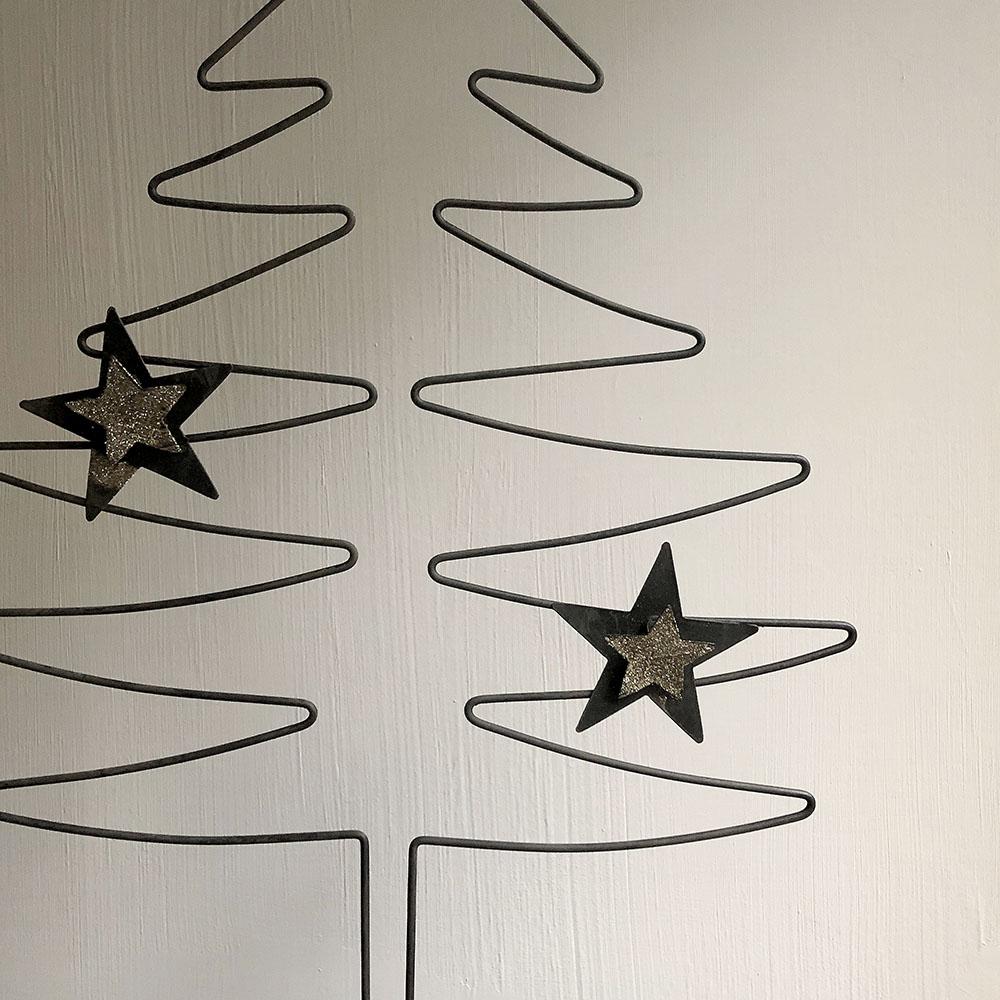 Baden|金色星星造型Memo夾-70cm