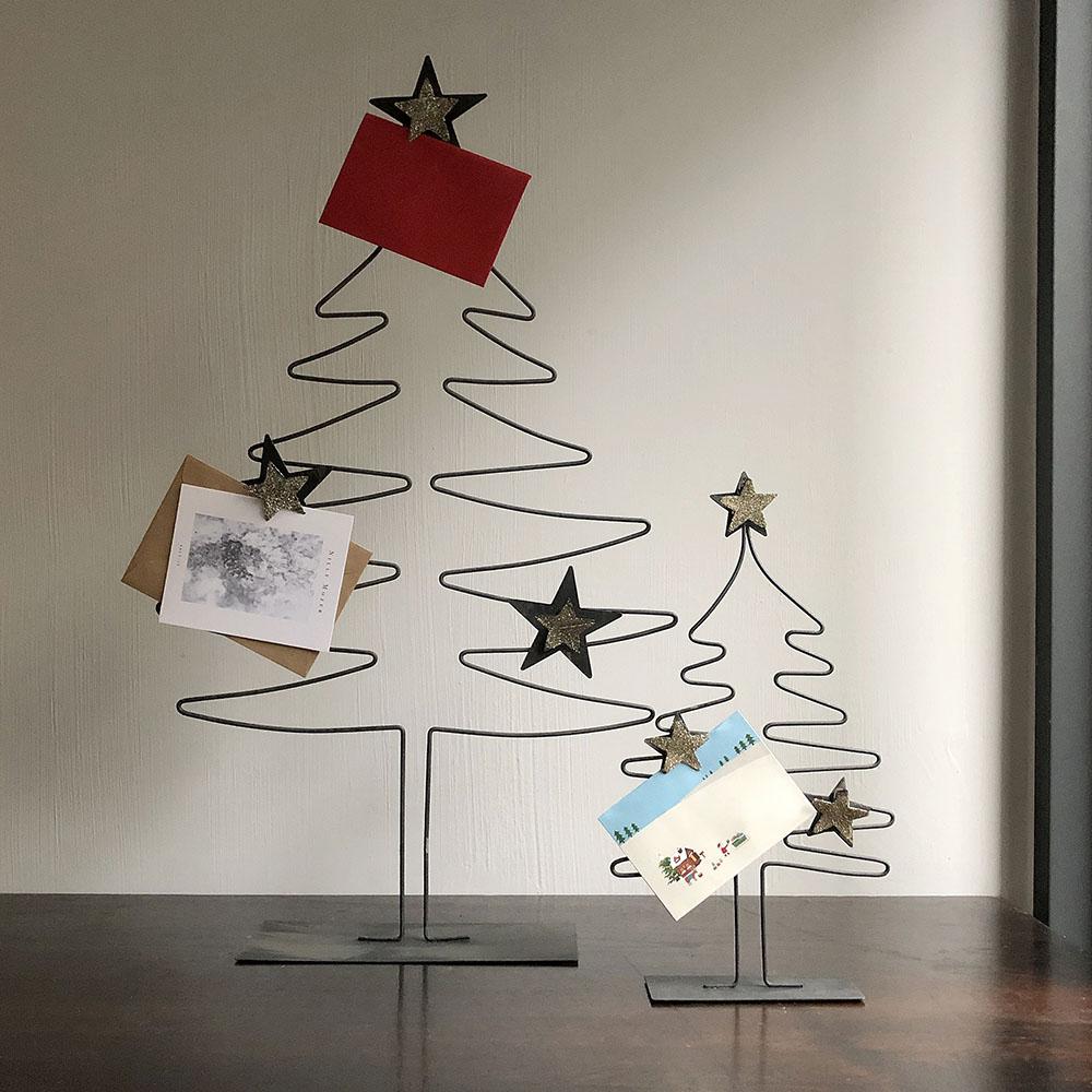 Baden|金色星星聖誕樹手做Memo夾-70cm