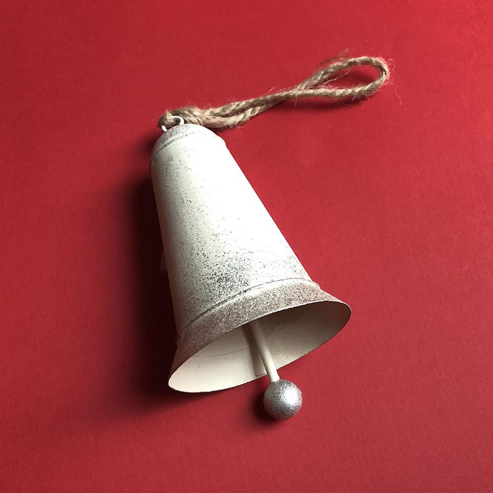 Baden 銀白色裝飾鈴鐺(一對)