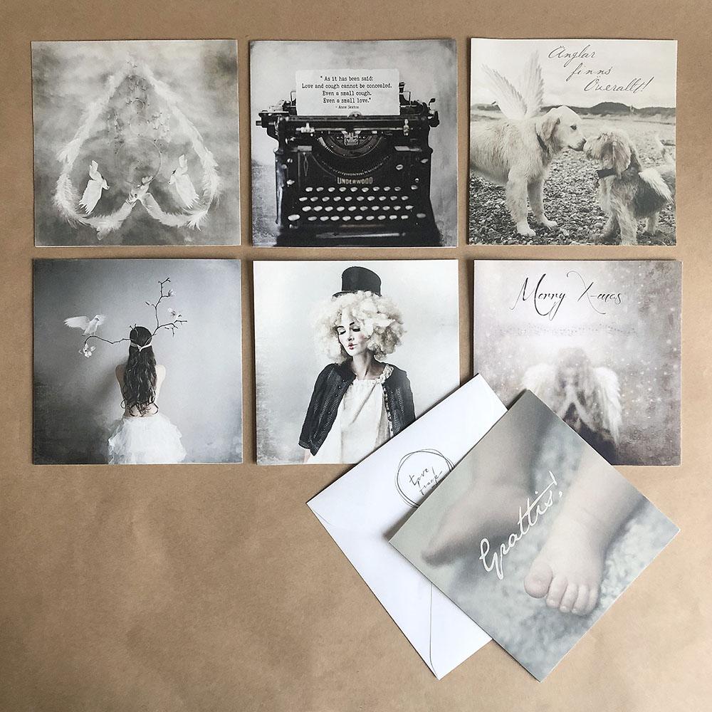 Tove Frank|瑞典攝影藝術家萬用卡(黑白灰/15x15)