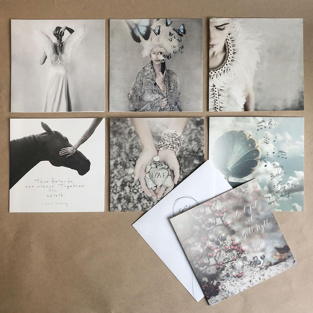 Tove Frank|瑞典攝影藝術家萬用卡(米藍灰/15x15)