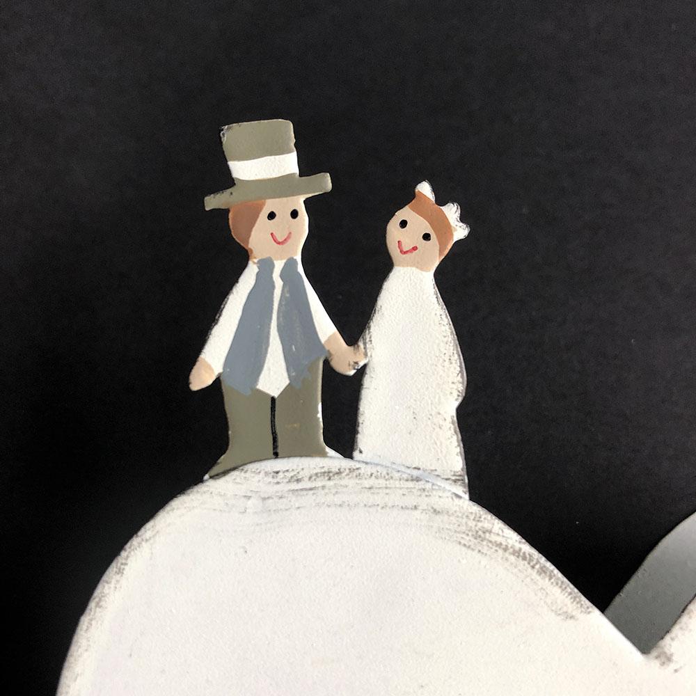 Baden|「我們連在一起」婚禮小物memo夾
