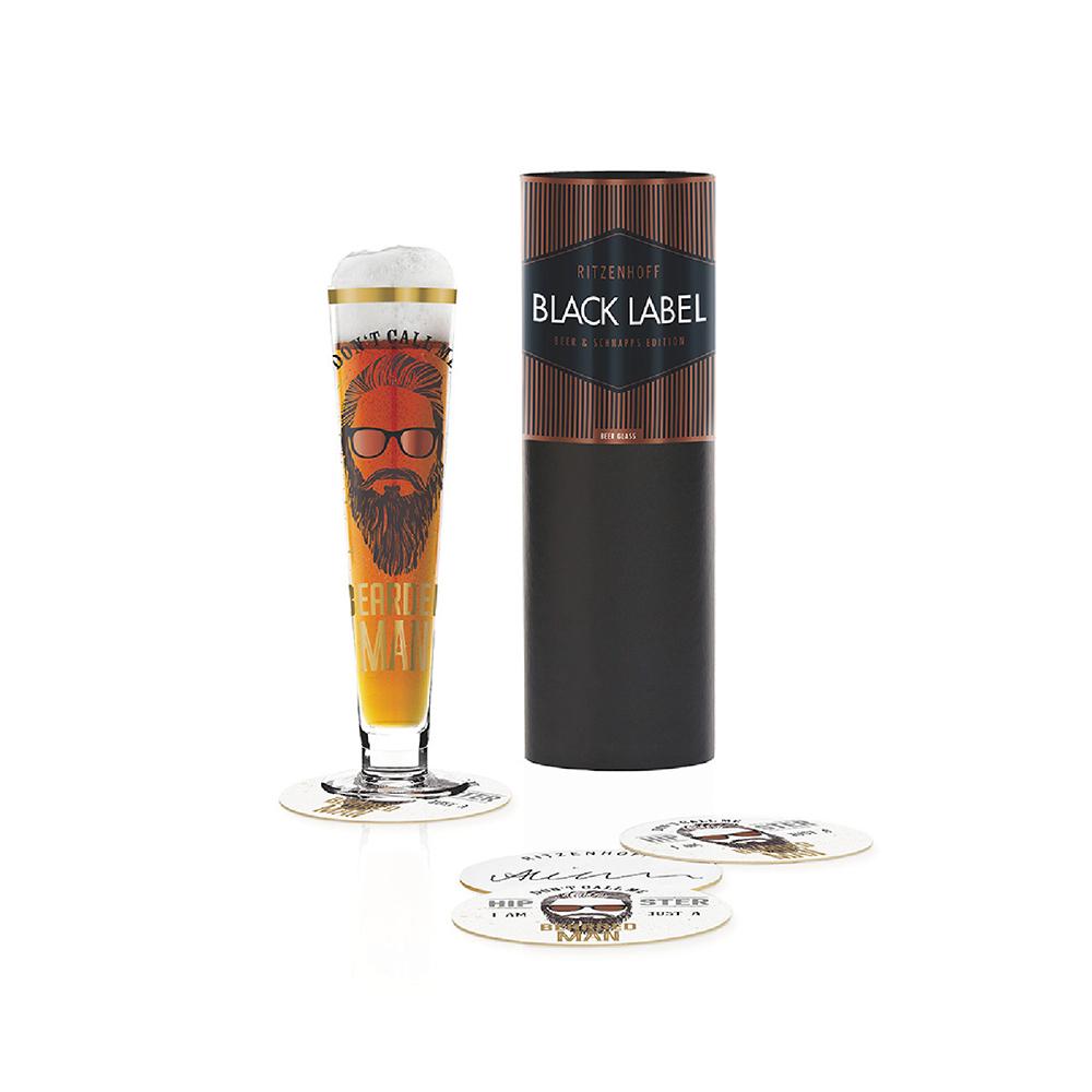 德國 RITZENHOFF |黑標經典啤酒杯 / BLACK LABEL