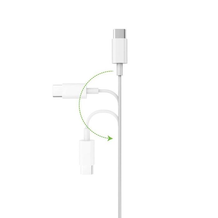 VogDUO | Cable Go 高速Type-C 2.0 To C 2.0傳輸充電線 (75cm)(經典黑)