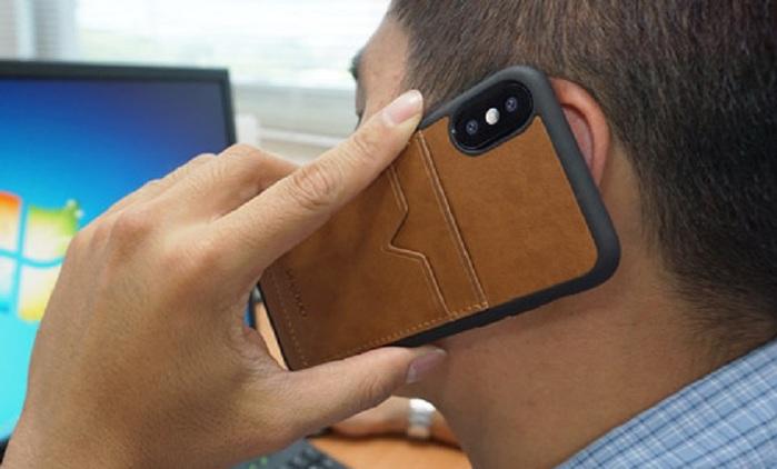 VogDUO | Iphone X 時尚高級專業防護殼(可放2張卡片)