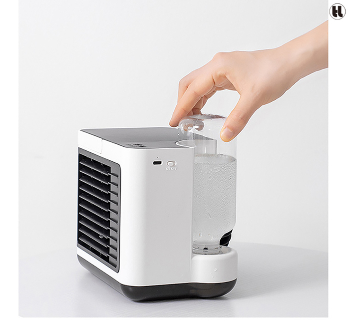 HLL   隨身3合1多功能冷風扇(純淨白)
