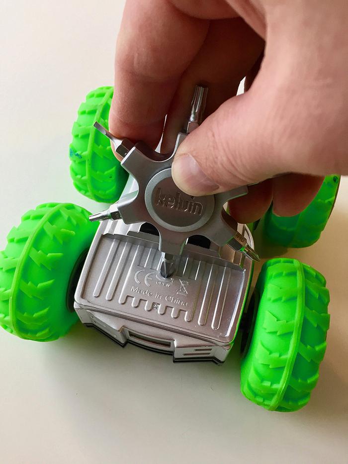 Kelvin Tools|口袋型多功能旋轉螺絲起子頭