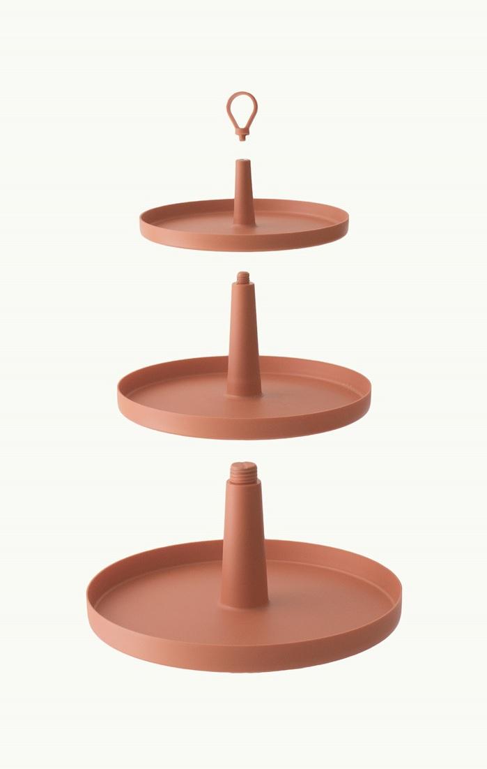 OMMO|Tiers 可調式三層置物架 (3色可選)
