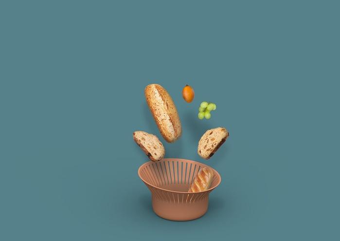 (複製)OMMO|Korg 六邊型置物籃 (2色可選)