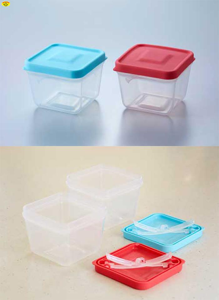 SMILE KIDS|神奇帶夾食物保鮮盒(日本製)-6入