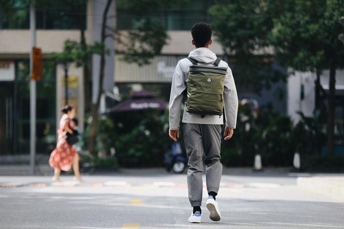 【集購】Kiwee SANDWICH 機能防盜摺疊雙肩包 (3色可選)