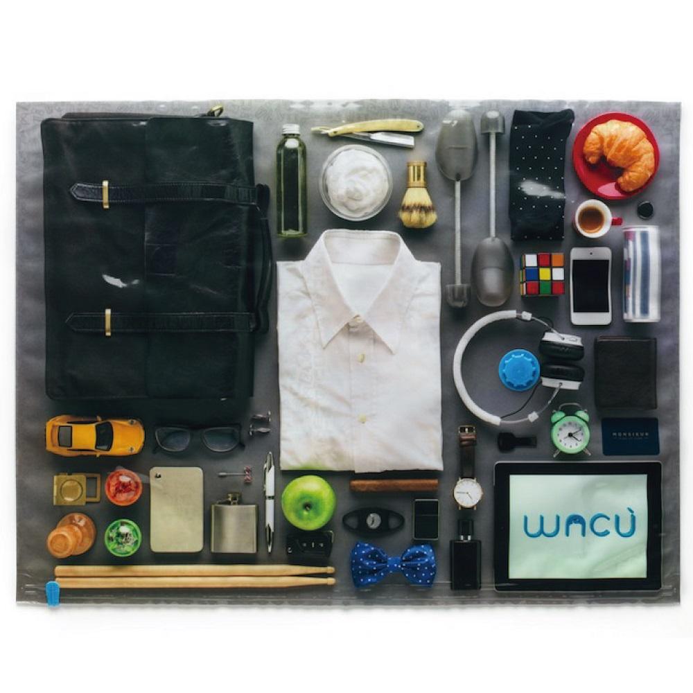 WACU   紳士款高級耐用真空袋1組2入(Size:M)