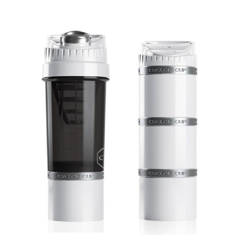 Cyclone cup | Amazing無毒多功能戶外休閒組(水壺+儲物罐) - 純淨白