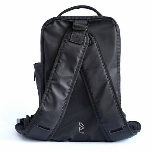BOW | Amazing Quiver防水多功能萬用包-單肩背帶(經典黑)