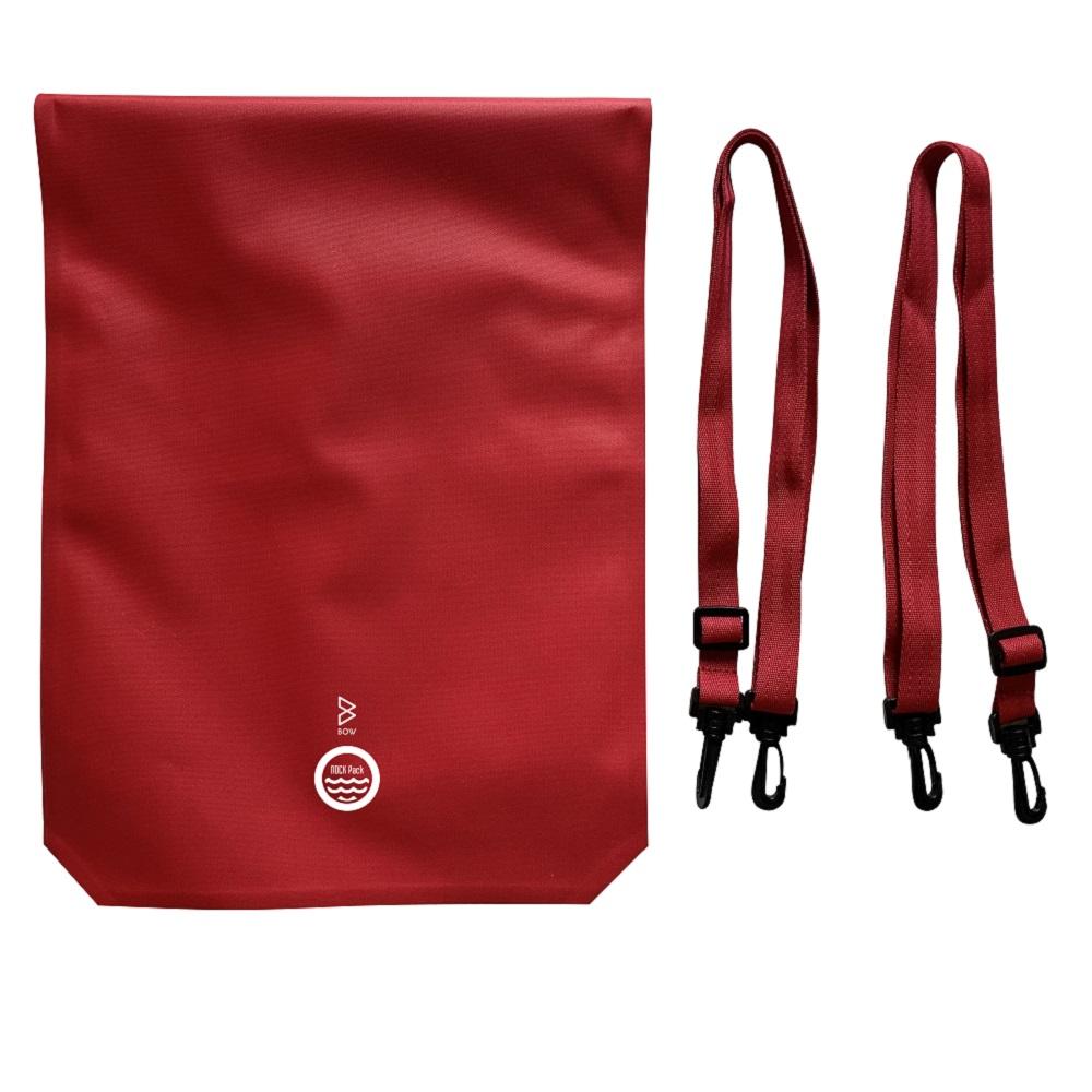 BOW | Nock Pack 終極氣密防水背袋 (時尚紅)