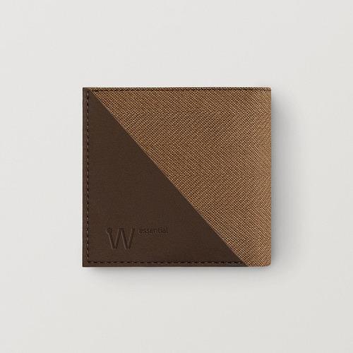 Baggizmo | Wiseward Essential 時尚超薄RFID防盜皮夾 (復古棕)