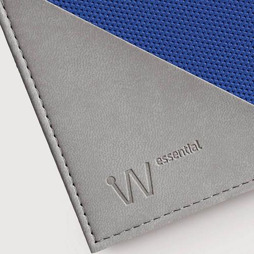 Baggizmo | Wiseward Essential 時尚超薄RFID防盜皮夾 (藍)
