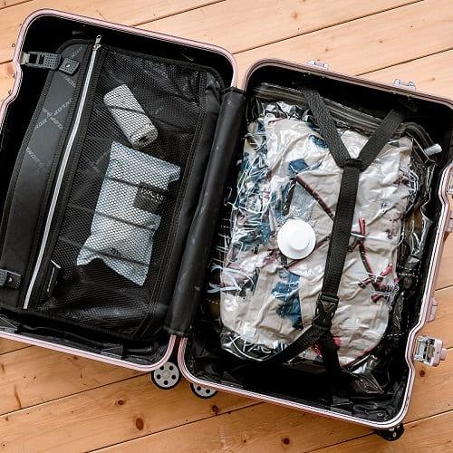 Pacum | 極致真空多功能收納機(經典白) - 附耐用真空袋1入